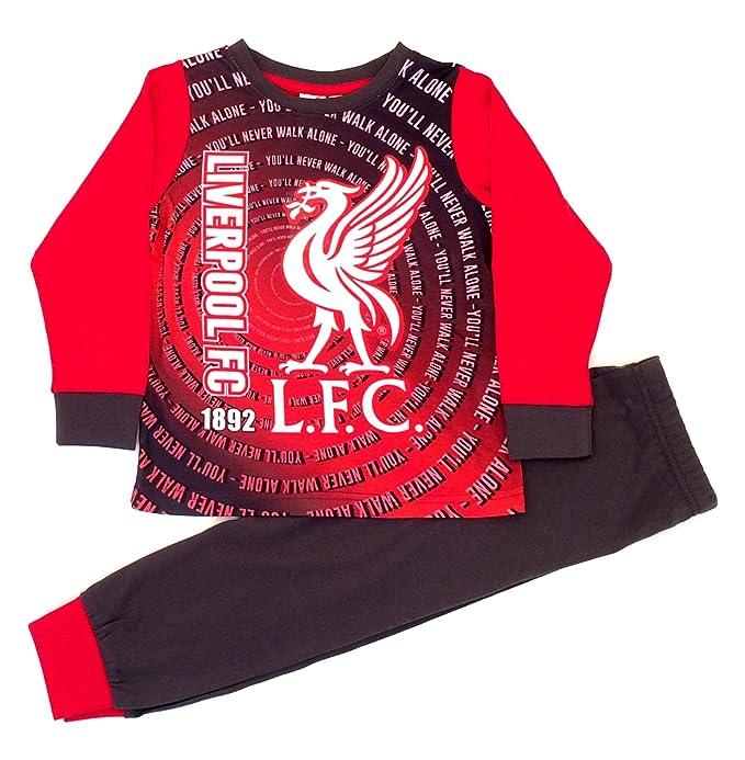 LIverpool FC - Pijama dos piezas - para niño rojo rosso