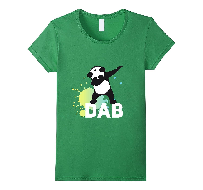 Panda Dab Football touch down Funny humor Tshirt