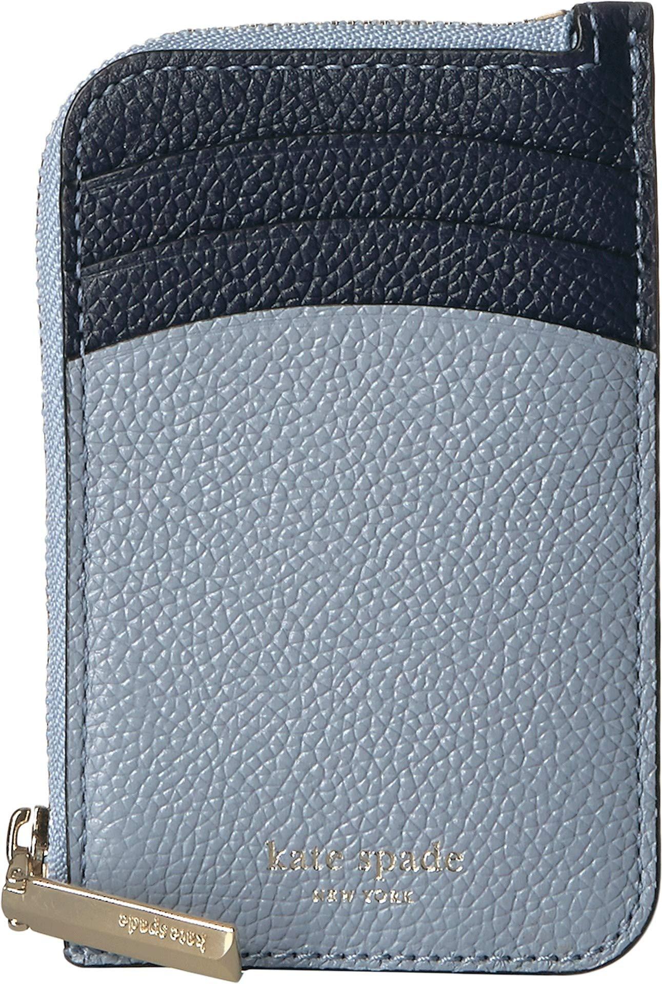 Kate Spade New York Women's Margaux Zip Card Holder Horizon Blue Multi One Size