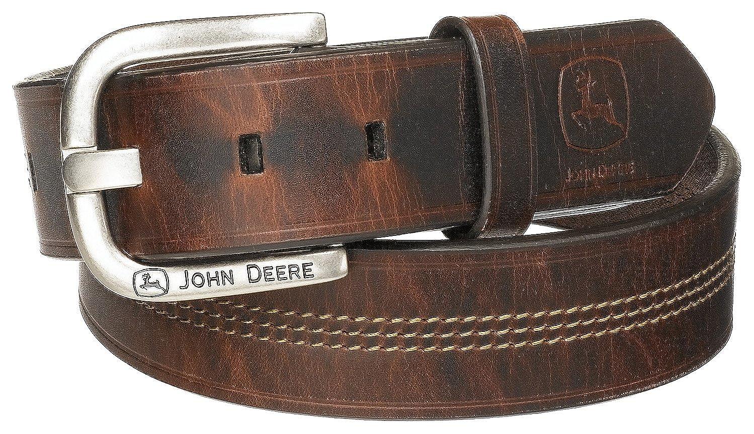 Brown John Deere Men's Men's Men's 35mm Belt 88d940
