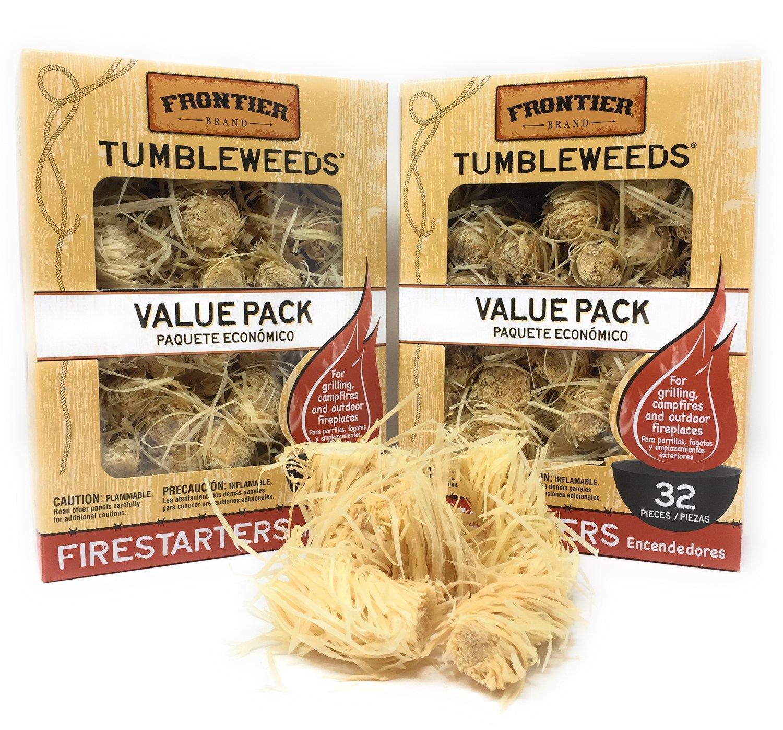 Royal Oak Enterprises LLC Tumbleweeds Firestarters Value Pack - Frontier (2 Pack) by FRONTIER
