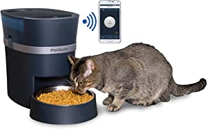 PetSafe Smart Feed Automatic Dog and Cat Feeder, Wi-Fi Enabled Pet Feeder, Smartphone App for iPhone