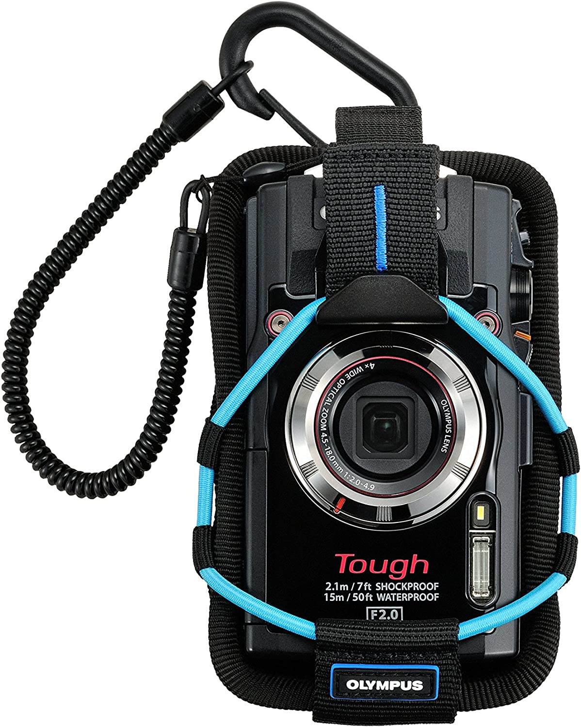 Blue Olympus CSCH-123 Case for Camera