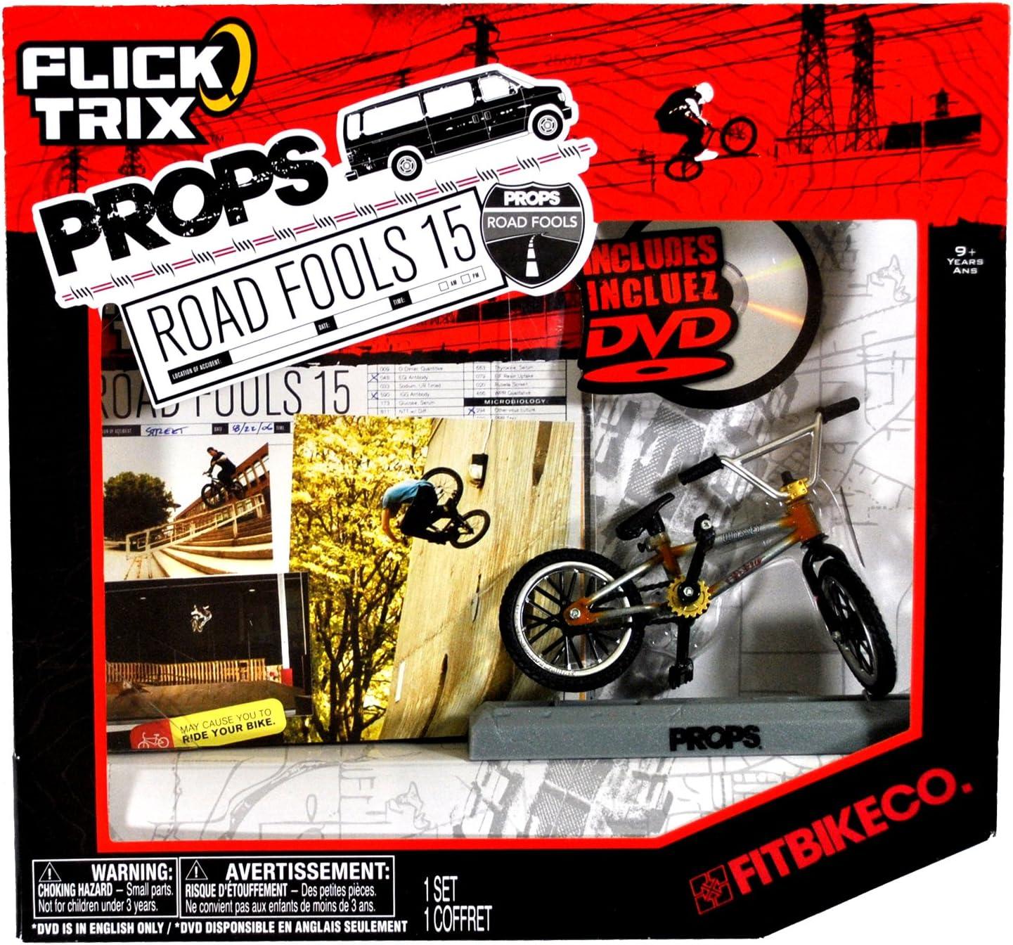 Metal Finger Bike Bicycle Mini Fingerbike Model w// Tires Tools Boys Toy Game