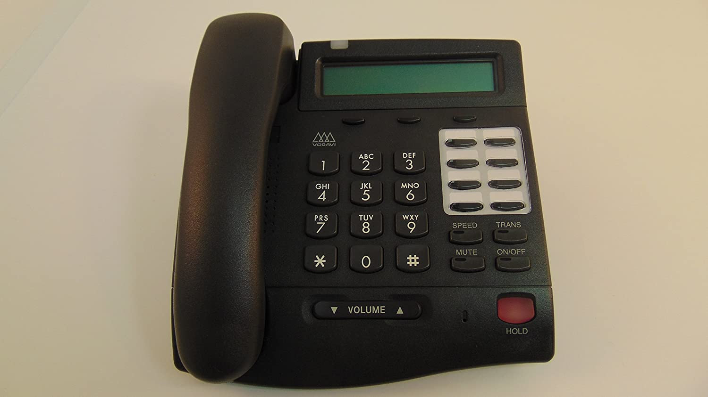 VODAVI 3012-71 BLACK with DISPLAY Business Phone No handset