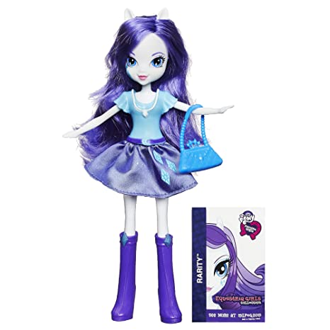 Amazoncom My Little Pony Equestria Girls Collection Rarity Doll