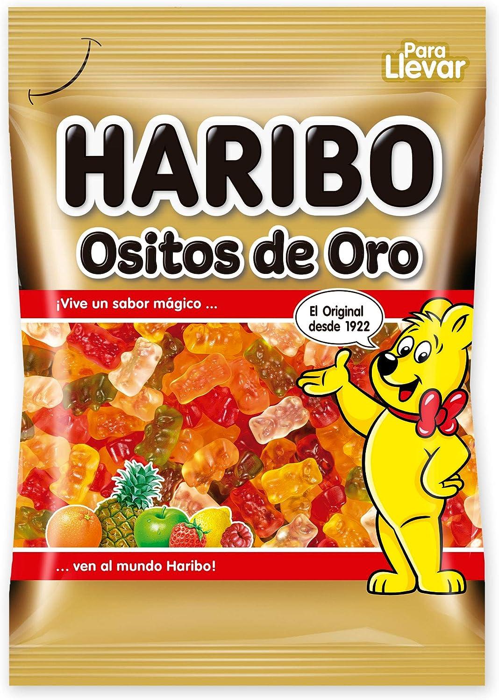 Haribo - Ositos De Oro, 18 x 100 g: Amazon.es: Alimentación y bebidas