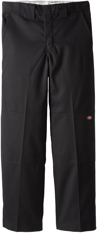 Dickies - - QP200少年のFlexwaistダブル膝マルチを使用しポケットパンツ B0036GGP86 12 ブラック ブラック 12
