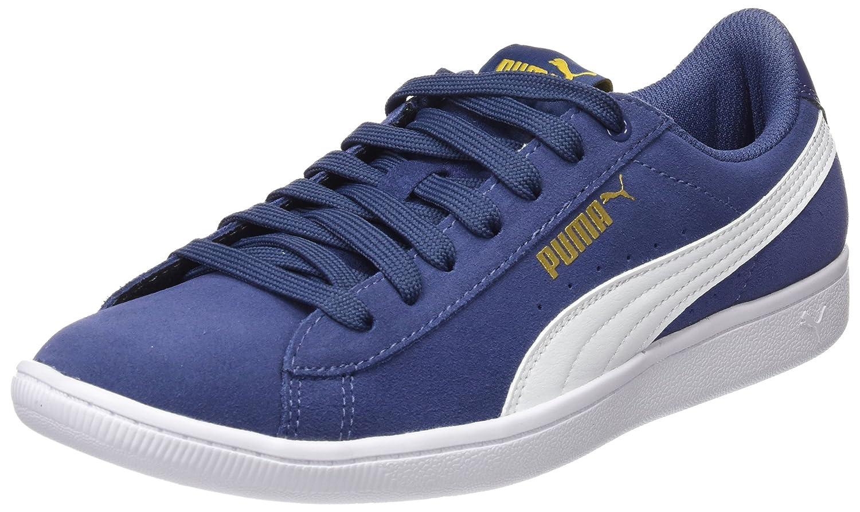 Puma Damen Vikky Sneaker Blau (Blau Indigo-puma Weiß)