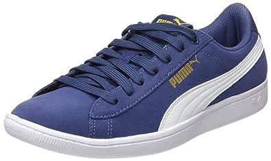 Puma Damen Vikky Sneakers, Schwarz Black White 02, 38 EU