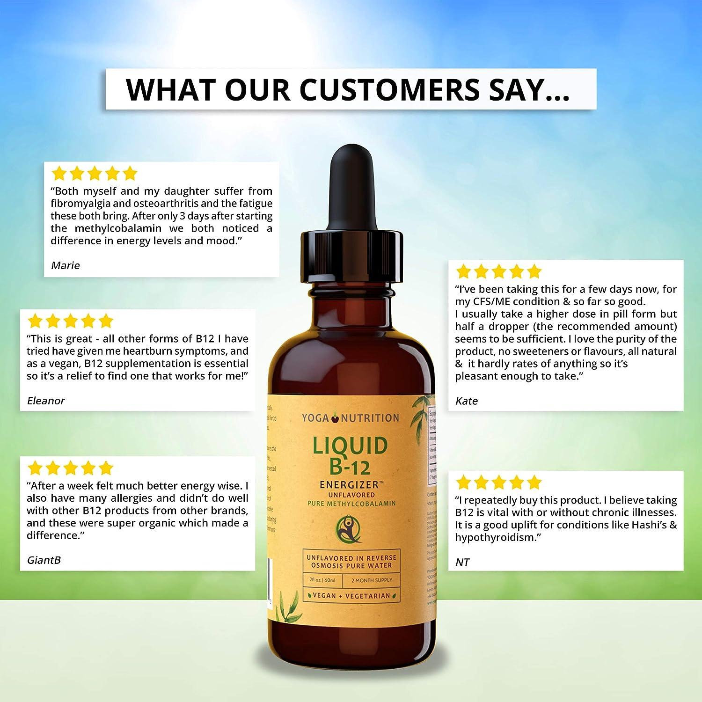 Vitamina líquida B12 60ml Energizer. Metilcobalamina sin conservantes artificiales, aplicación sublingual. Sin cianocobalamina sintética.