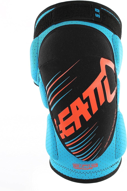 Leatt 3df 5.0 Unisex Adults Knee Pad Blue//Orange