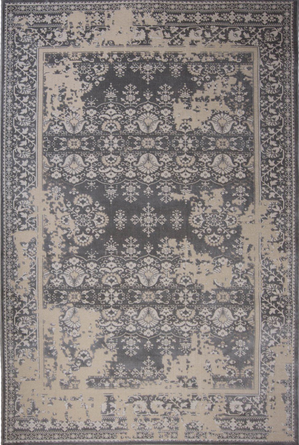 product contemporary miller area rug gray nicole geometric rugs designer kenmare