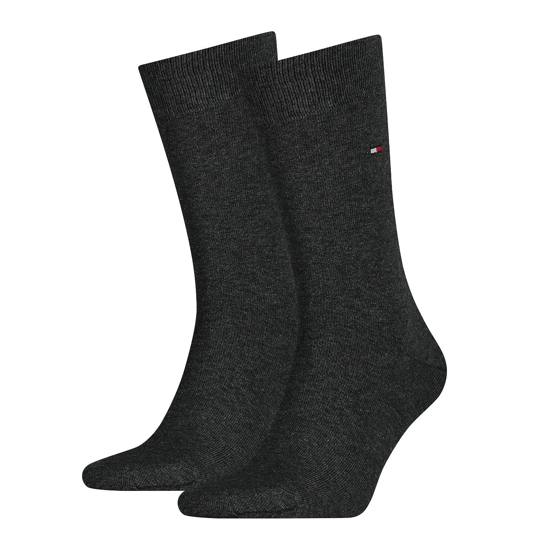 Tommy Hilfiger Men's Classic 2P Calf Socks Classic 2 Pack