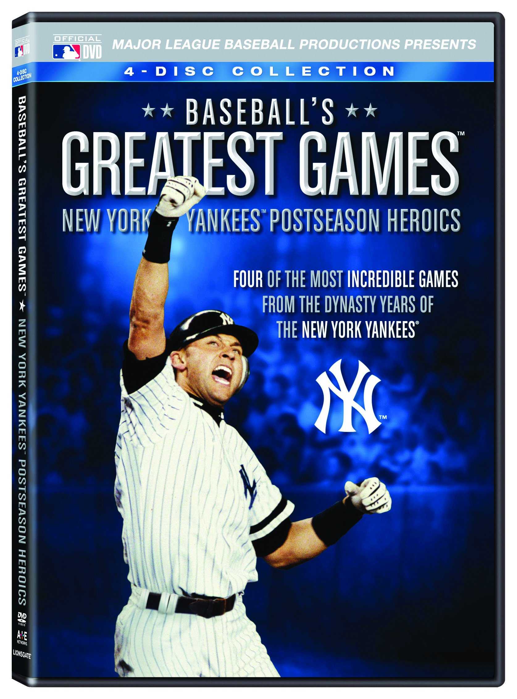 Baseball's Greatest Games: New York Yankees Postseason Heroics [DVD]