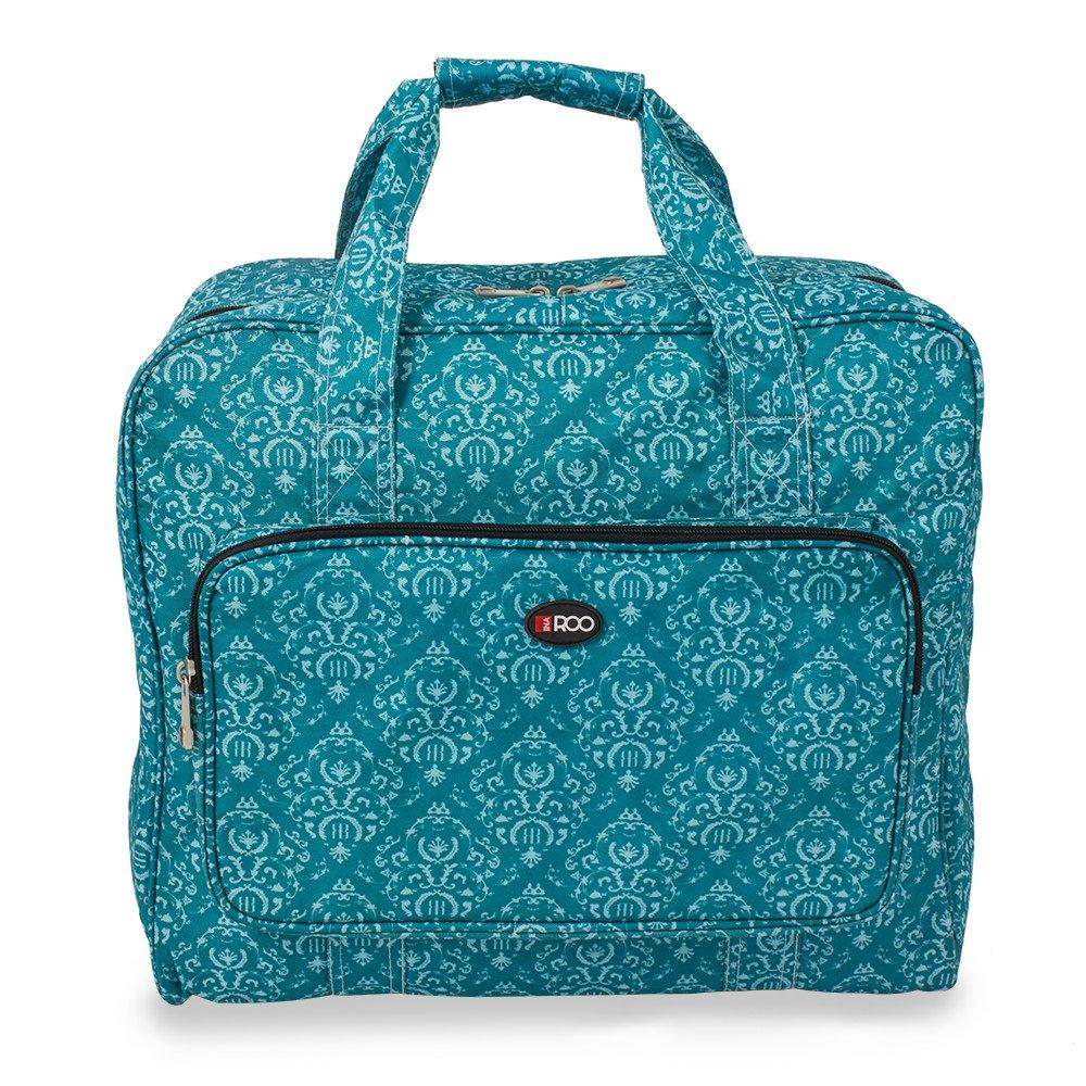 Custodia da trasporto per macchina da cucire in Imperial Teal design Roo Beauty Ltd