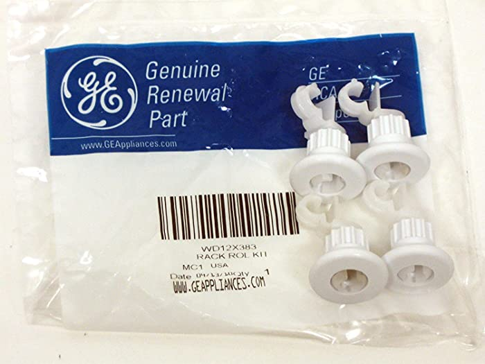 GE Dishwasher Rack Roller Kit WD12X383 NEW