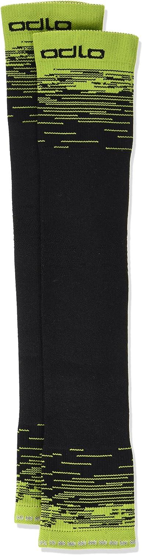 ODLO Arm Cerami Cool UVP Arm Warmers M Unisex black Arm CERAMICOOL UVP acid lime