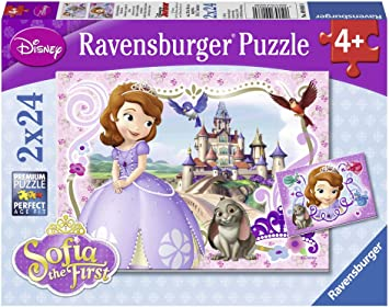 Trefl Disney 60 Pieza Rompecabezas para Niños Princesa Sofía Aventuras