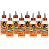 Gorilla Wood Glue, 8 ounce Bottle, (Pack of 8)