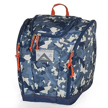 f572164960 High Sierra Trapezoid Boot Bag Razor Camo Rustic Blue Redline