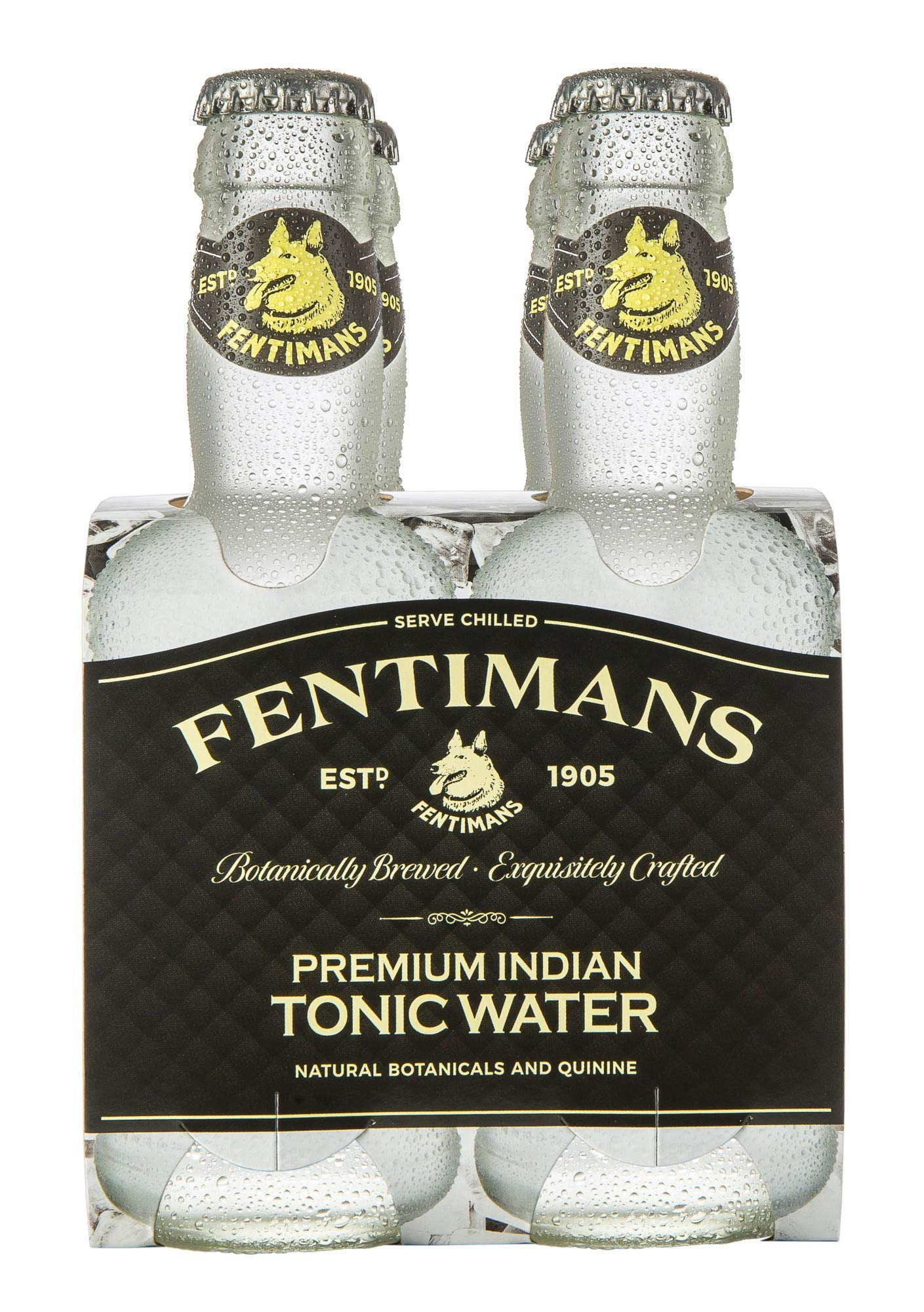 Fentimans Tonic Water 4x200ml by Fentimans