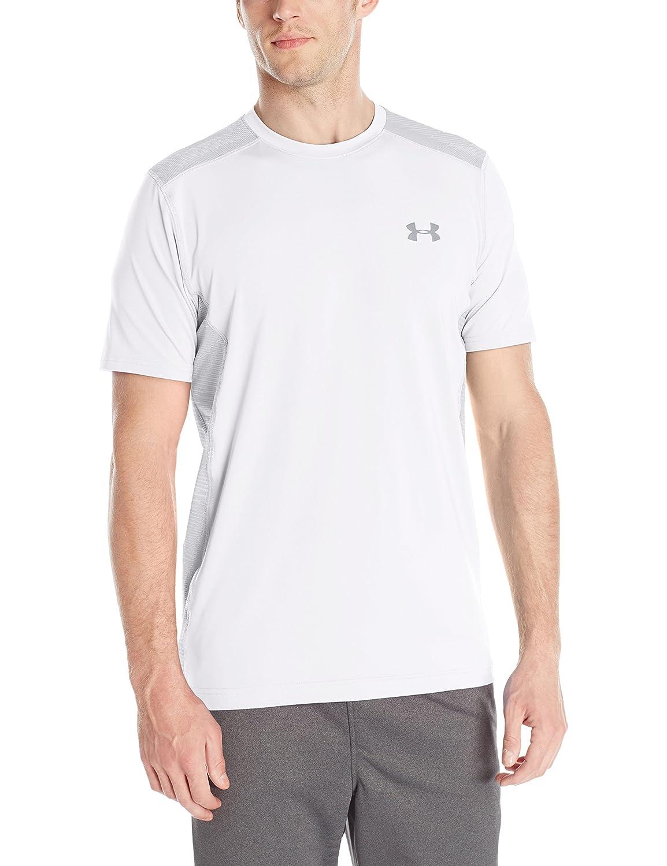 (アンダーアーマー) UNDER ARMOUR ヒットヒートギアSS(トレーニング/Tシャツ/MEN)[1257466] B01MFABV5N X-Small|White/Overcast Gray White/Overcast Gray X-Small