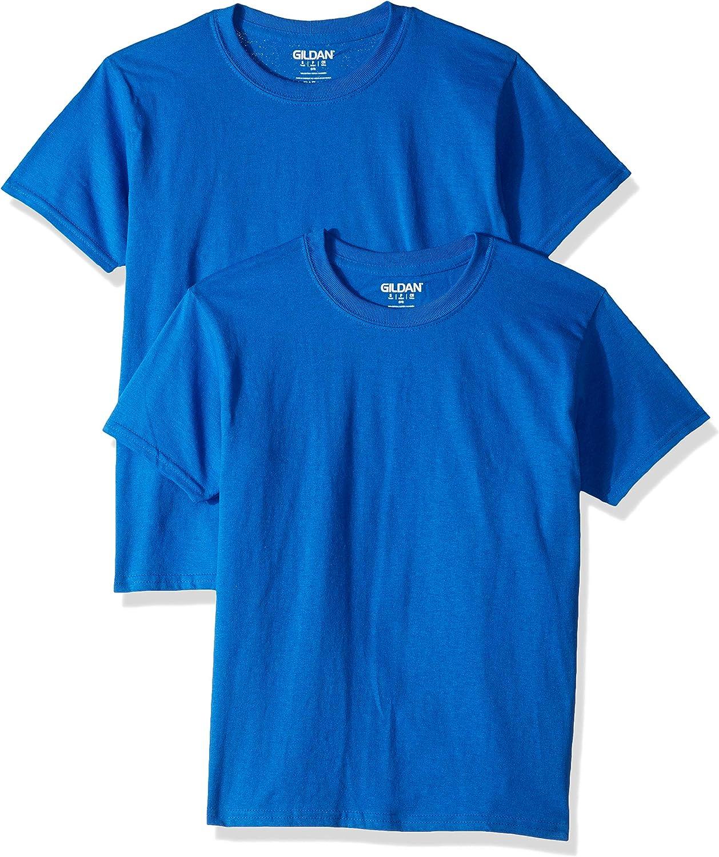 Gildan Kids' Ultra Cotton Youth T-Shirt, 2-Pack: Clothing