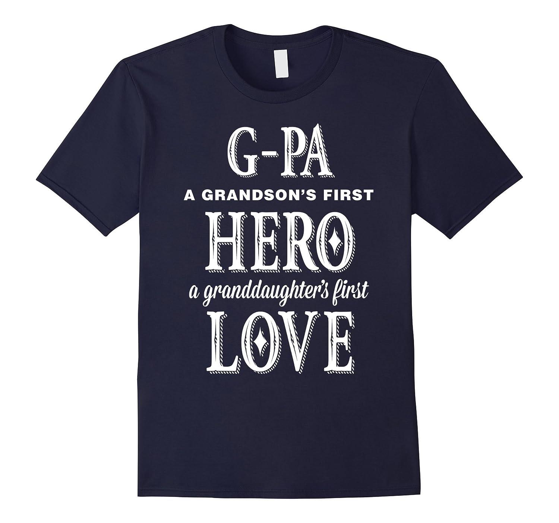g-paGrandpa our first hero tshirt-CD