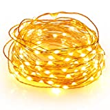 Amazon Price History for:Boomile Fairy Lights, 100 LEDs, Flexible Copper Wire String Lights, Warm White, Indoor and Outdoor for Bedroom, Garden, Patio, Wedding, Tree, Party, Christmas(33ft)