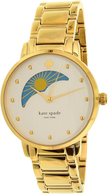 e9d8ca72e Amazon.com: Kate Spade New York Women's Gramercy - KSW1072 White: Kate Spade:  Watches