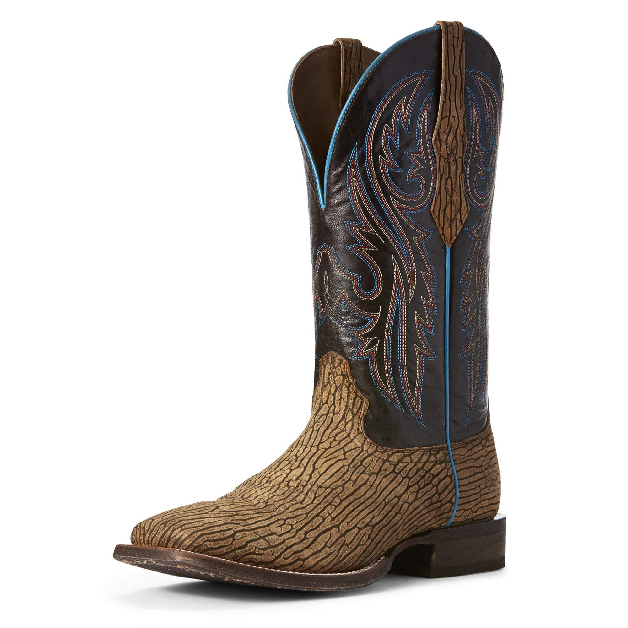 Ariat Men's Circuit Puncher Western Boot, Ancient Oak/Burbon Chocolate, 12D by ARIAT