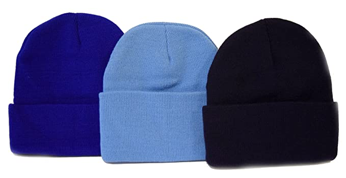 Amazon.com  Black Friday   Cyber Monday Deal 3 Pack Knit Beanies ... df3ae7e1c3b