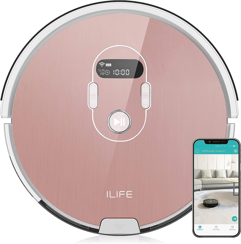 ILIFE A7 Robot Aspirador, Rose: Amazon.es: Electrónica