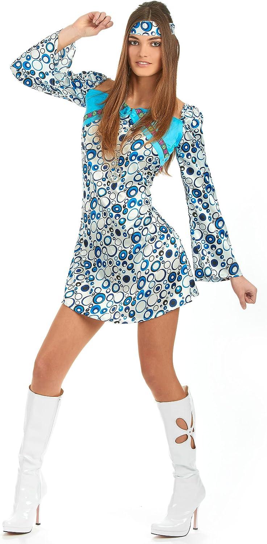 Atosa - Disfraz de hippie para mujer, talla M: Amazon.es: Juguetes ...