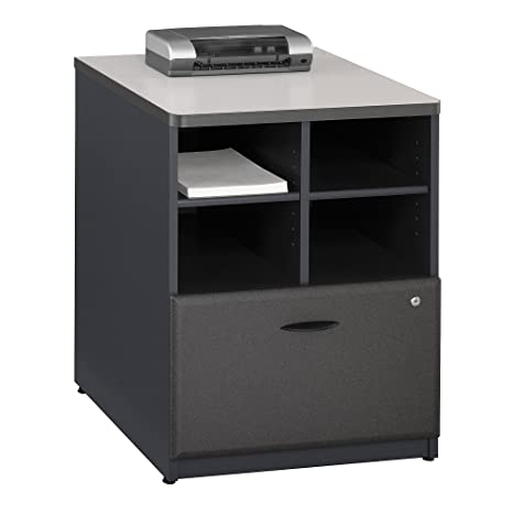 Amazon.com: Bush Business muebles Series un Piler Filer, 24 ...