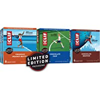 6 Pk CLIF BAR Energy Bars Chocolate Chip & Crunchy Peanut Butter