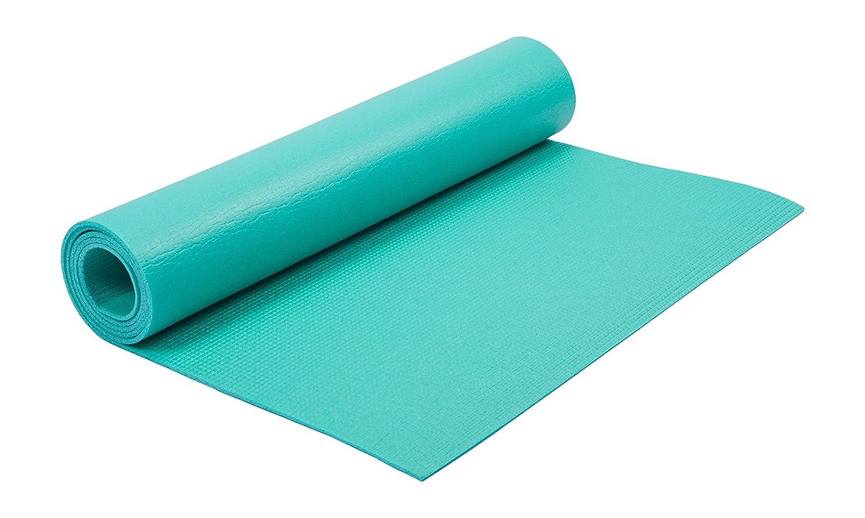 Kounga Yoga Mat Essential 4 Esterilla, Unisex Adulto, Turquoise, 172 x 58 cm