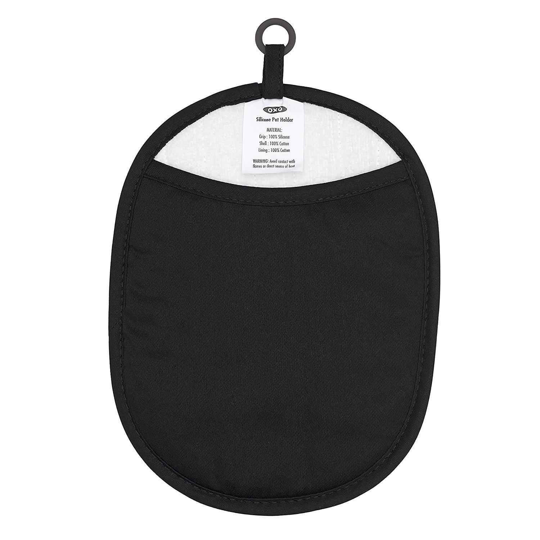 Good Grips Manique en Silicone Noir OXO Black 21.89/x 18.11/x 1,5/cm