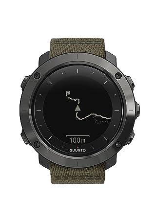 Suunto - Traverse - SS022293000 - Reloj GPS Outdoor para excursionismo y senderismo - Sumergible - Negro/pizarra - Talla única: Amazon.es: Deportes y aire ...