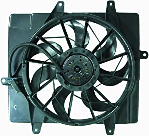 DEPO 333-55003-000 Replacement Engine Cooling Fan Assembly (This product is an aftermarket product. It is not created or sold by the OE car company)