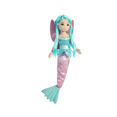 Aurora World Sea Sparkles Fairy Mermaid Shellina Plush: Toys & Games
