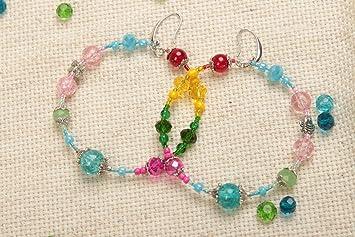 1ac710a40f37 Pendientes hechos a mano regalo original para mujer bisuteria artesanal   Amazon.es  Hogar