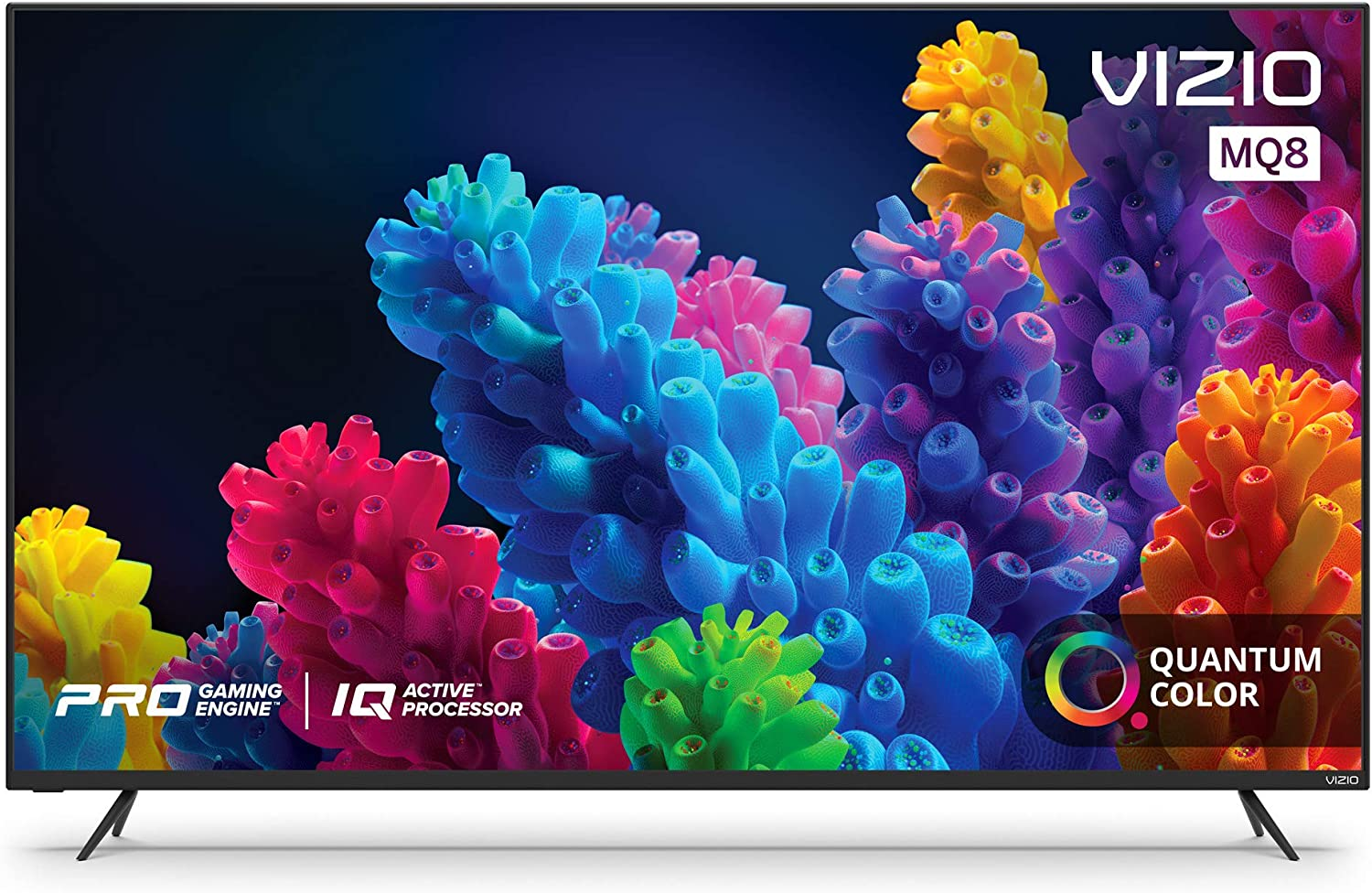 VIZIO 55-Inch M-Series Quantum 4K UHD LED HDR Smart TV with Apple AirPlay and Chromecast built-in, Dolby Vision, HDR10+, HDMI 2.1, Variable Refresh Rate & AMD FreeSync Gaming (M55Q8-H1)