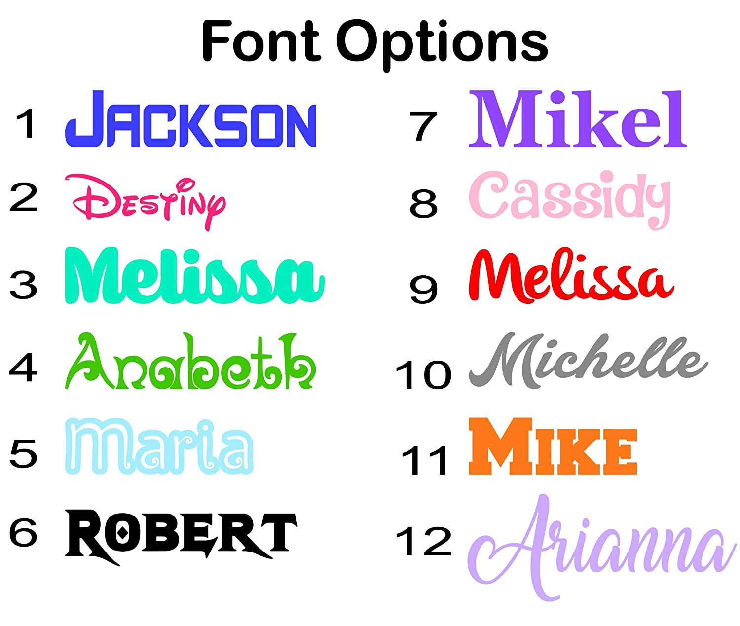 PHONE LAPTOPS PERSONALIZED VINYL NAME DECAL STICKER  WINDOW
