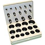 Japanese Metric O-Ring Kit, Buna-N, Black, 90A Durometer, 30-Sizes (Pack of 391 Pieces)