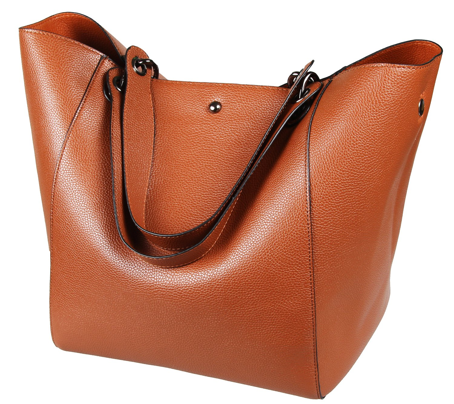 SQLP Tote Bags Purses and Handbags for Women Leather Shoulder Bags Brown
