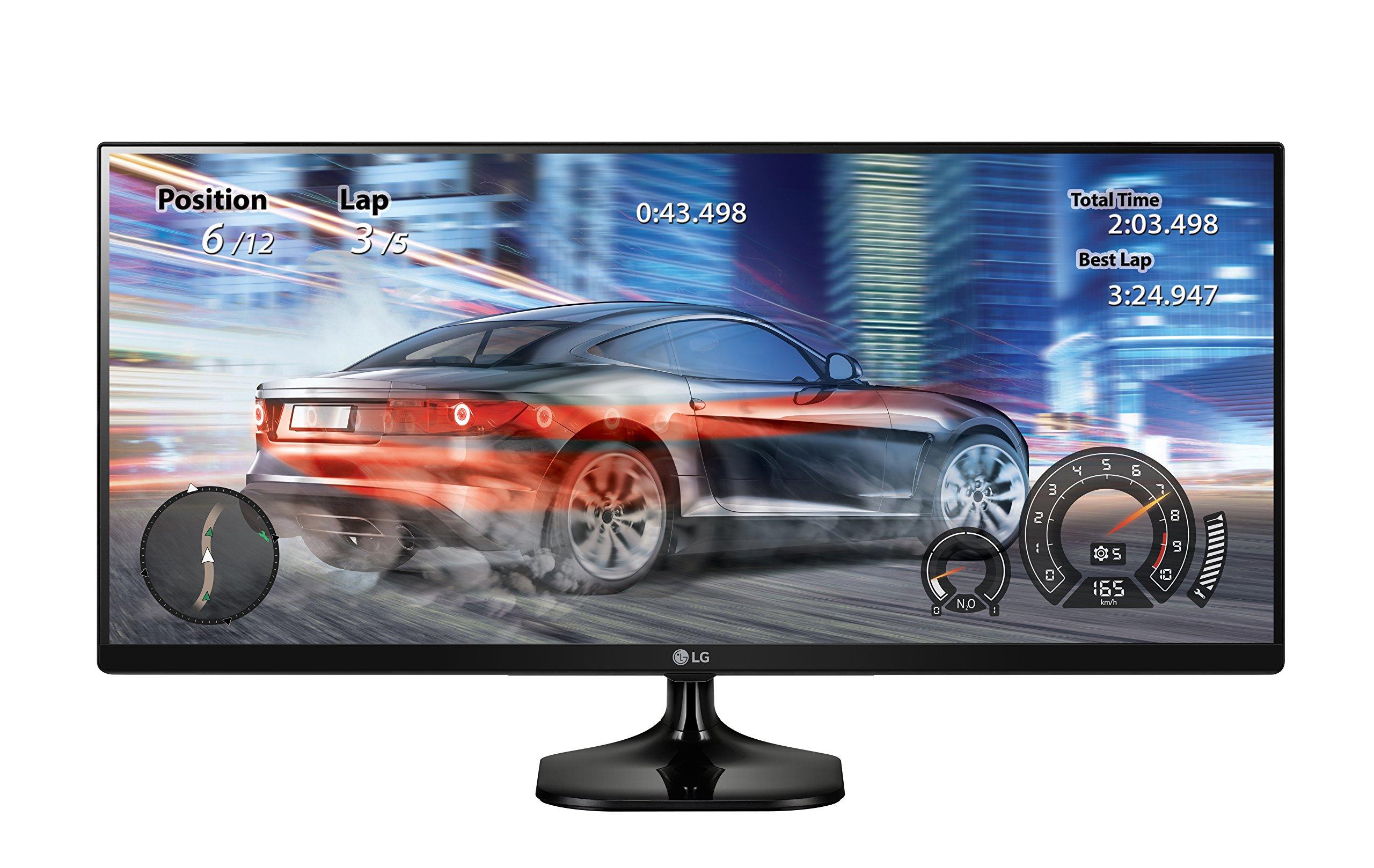 LG 25UM58-P 25-Inch 21:9 UltraWide IPS Monitor with Screen Split