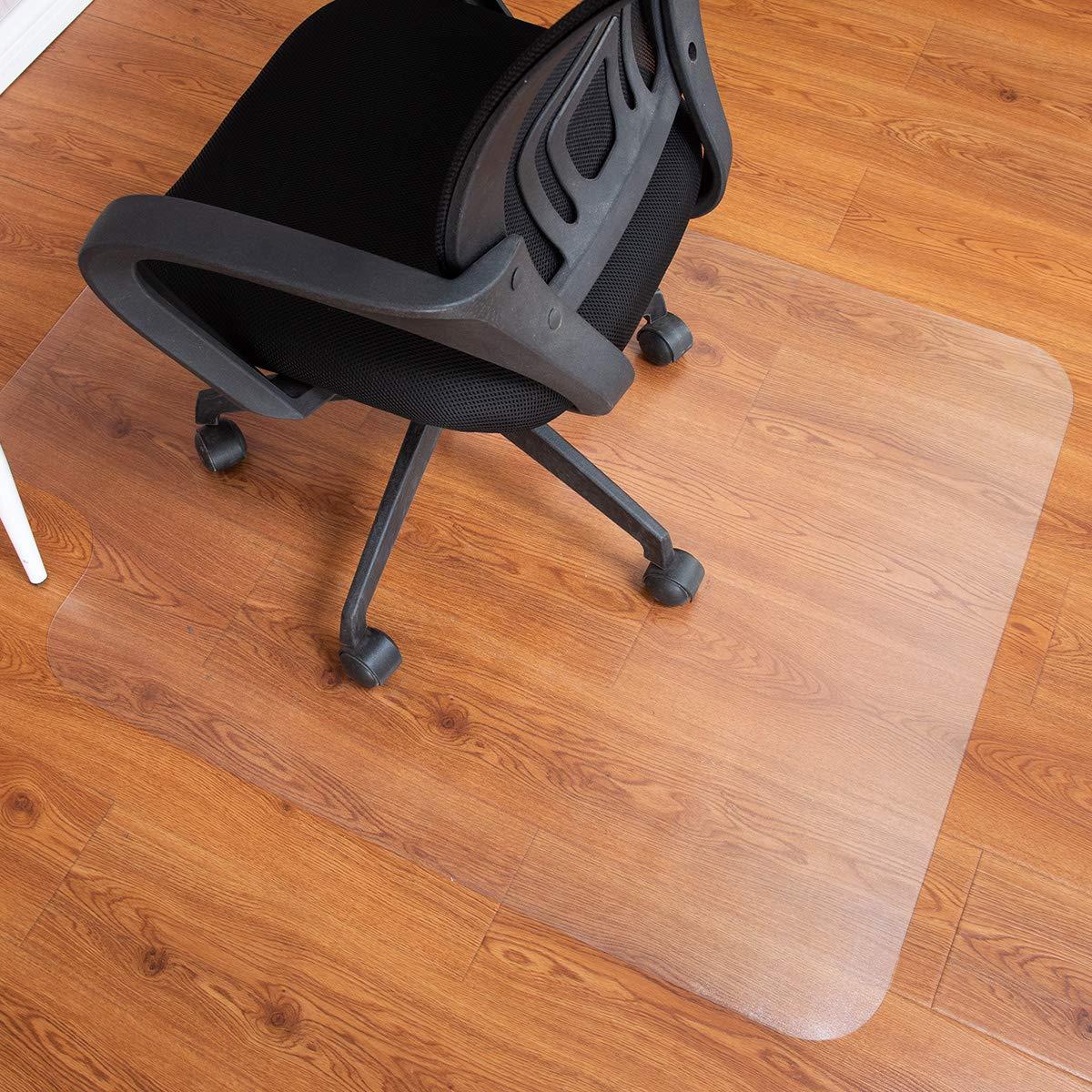 Costway, tappetini in ufficio proteggi tappeto, 900x 1200mm, 1,50mm di spessore, con labbro 900x 1200mm 50mm di spessore