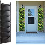 Vertical Garden Hanging Planter, 7 Pockets, Wall Hanging Mount Planter Plant Grow Bag for Flower Vegetable - Indoor / Outdoor
